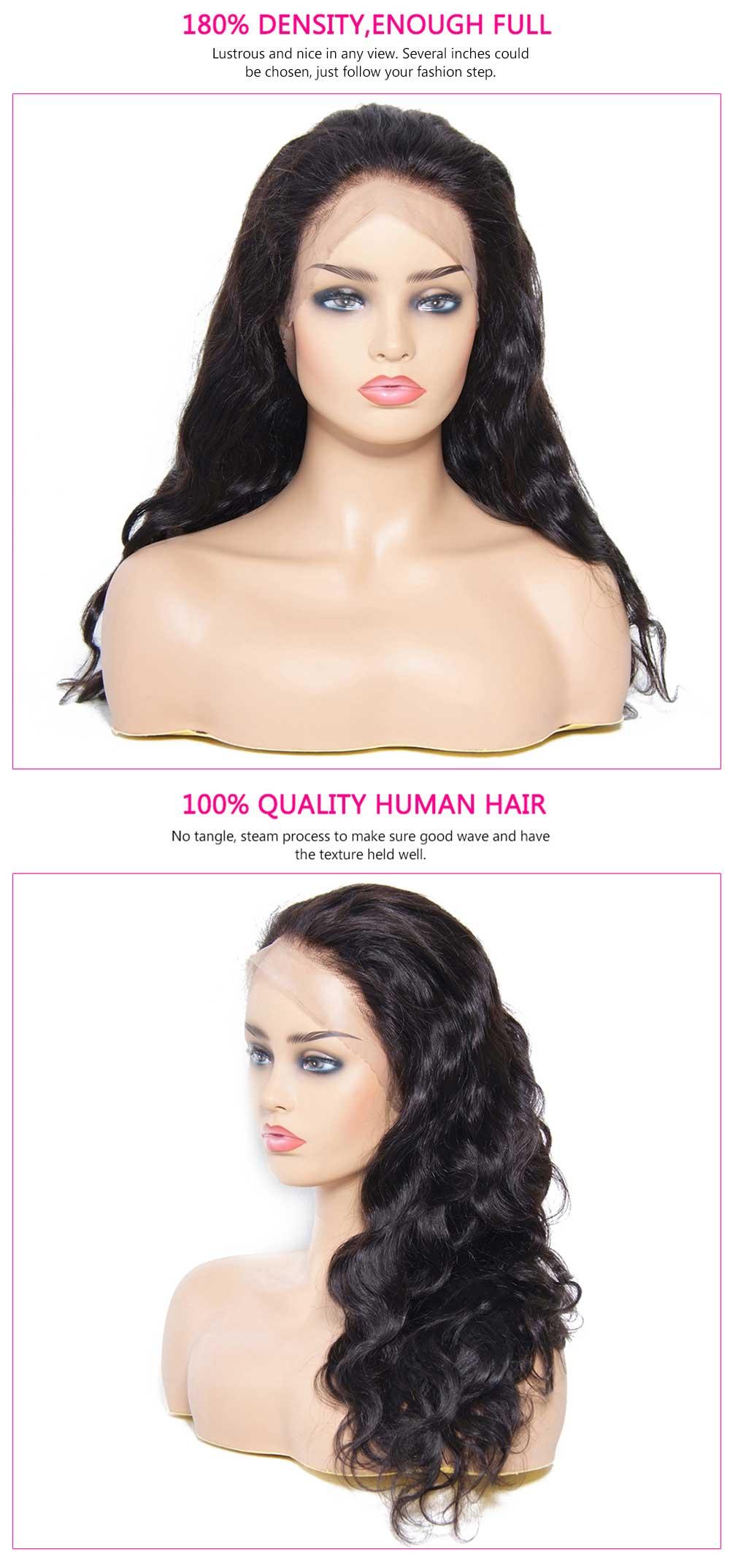 360 Brazilian Body Wave Human Hair Wigs