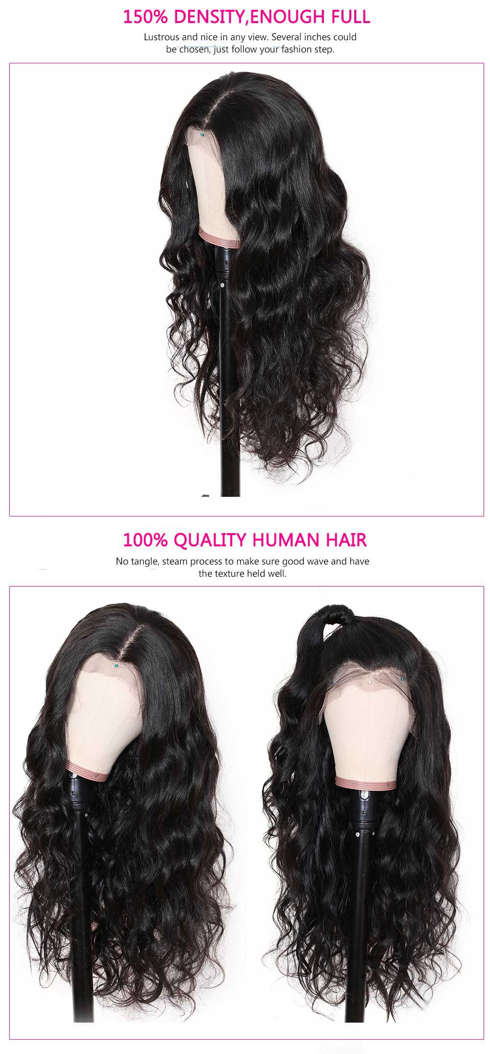 Quality Julia 360 Lace Frontal Human Hair Wig