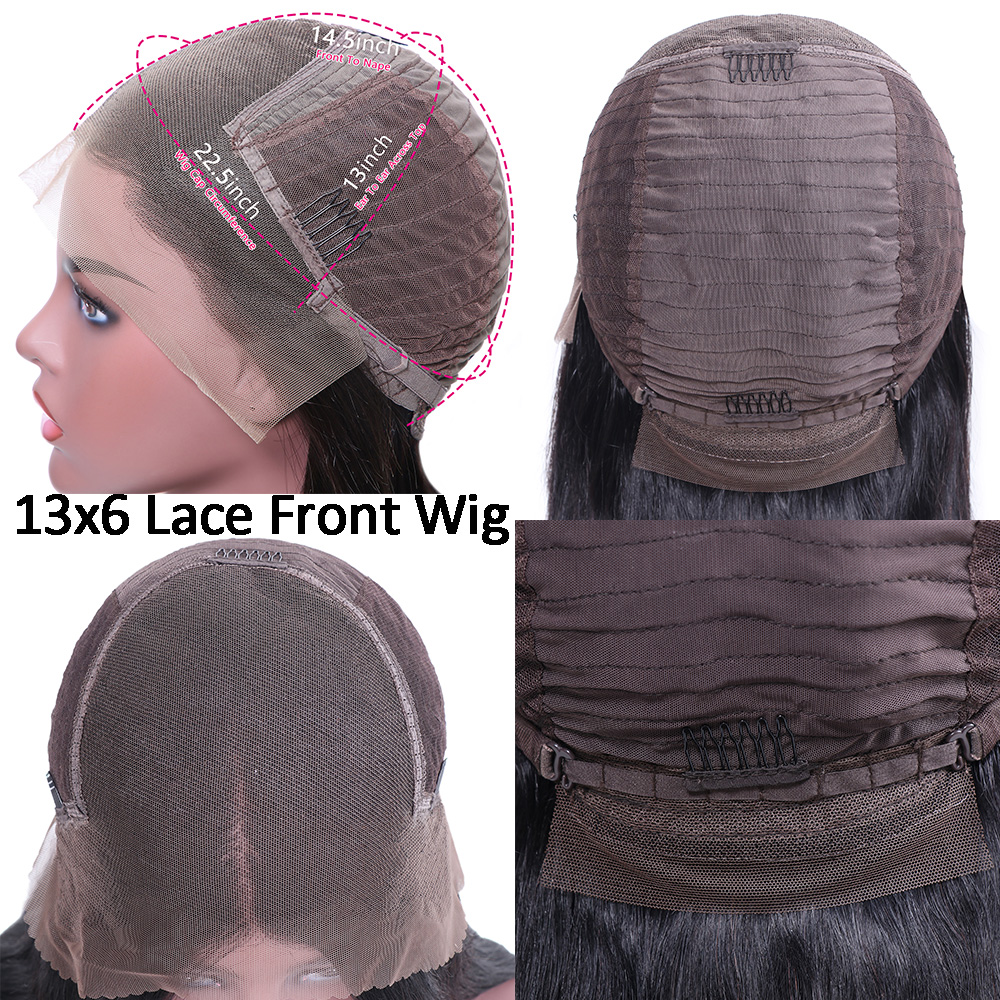 13x6 Lace Front Straight Human Hair