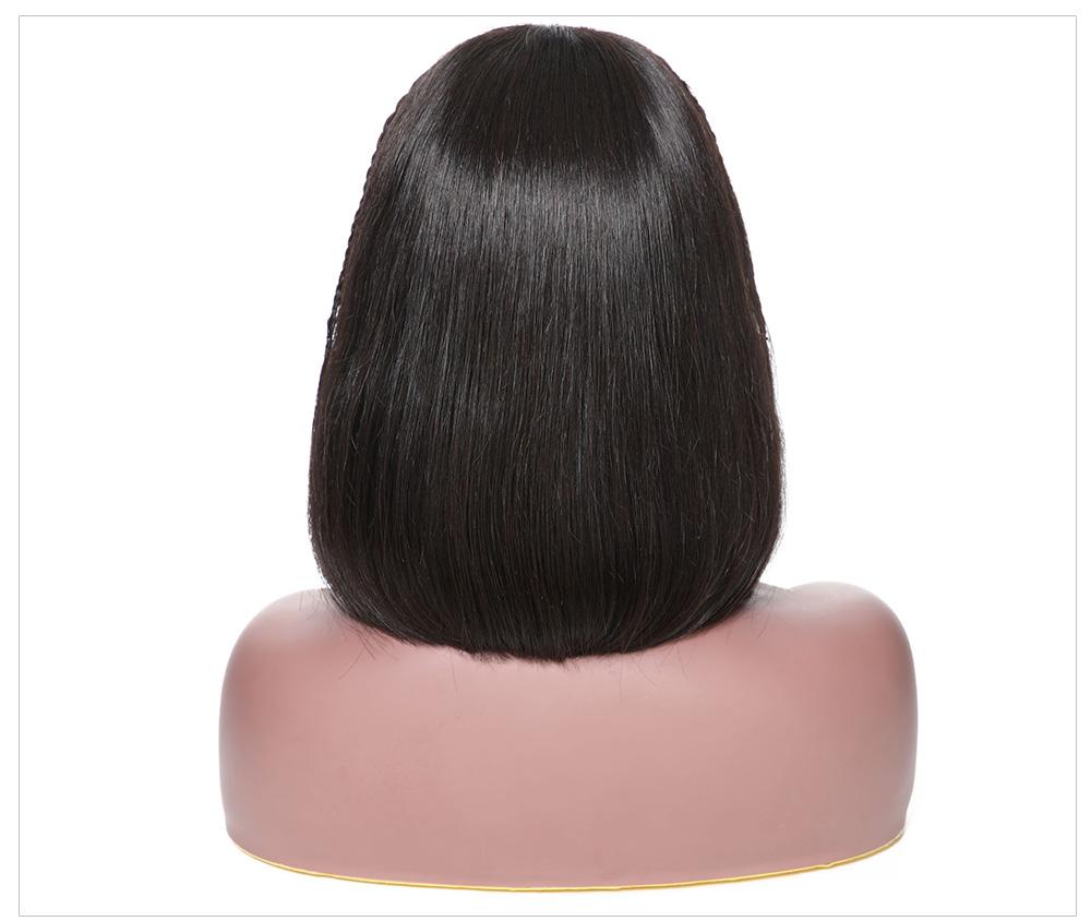 Brazilian Bob Wig Human Hair For Black Women