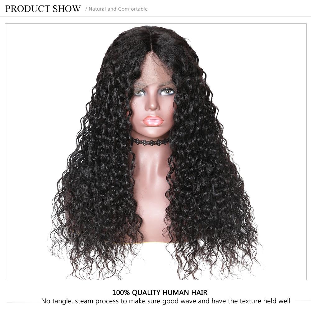 Long Water Wave Human Hair Wig