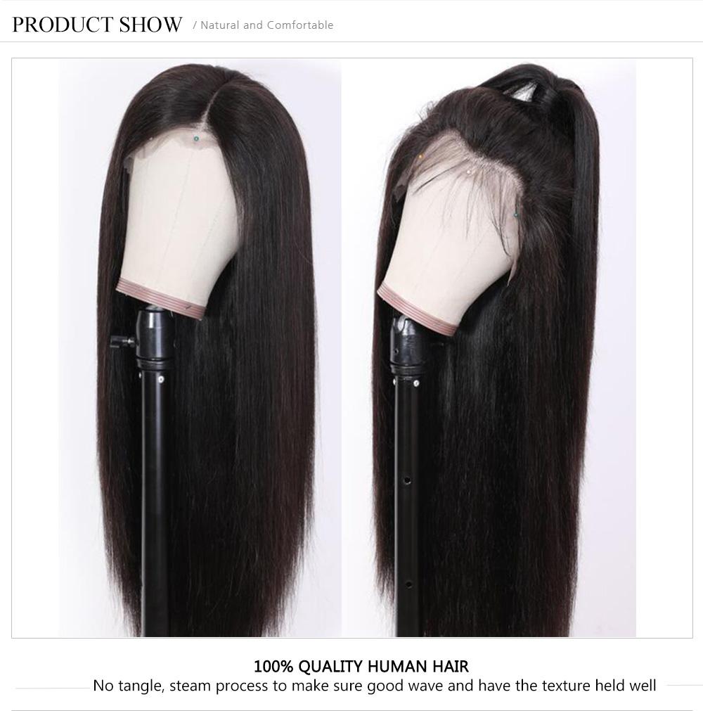 Long 360 Lace Human Hair Wig