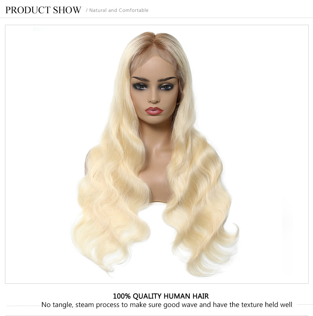 Best Pre Plucked 613 Body Wave Human Hair Wigs Online