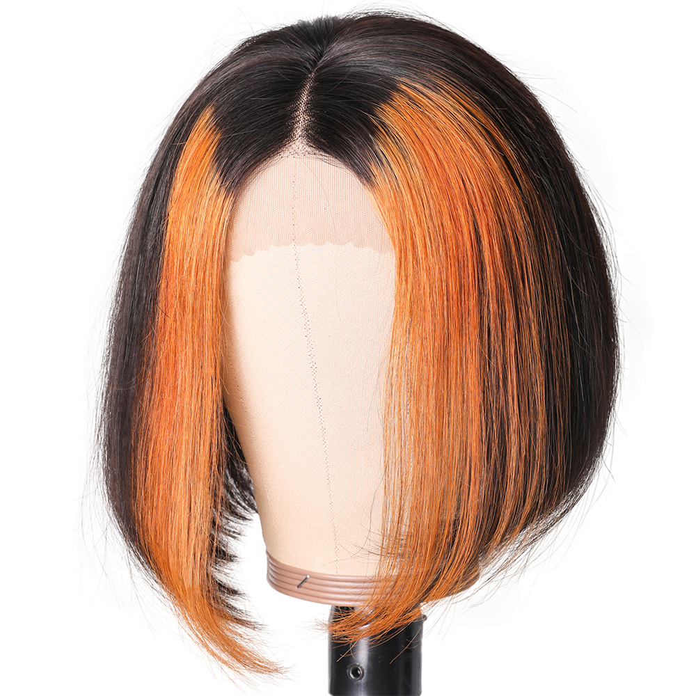 Natural Hair Gluless Long Straight Lace Wigs For Women