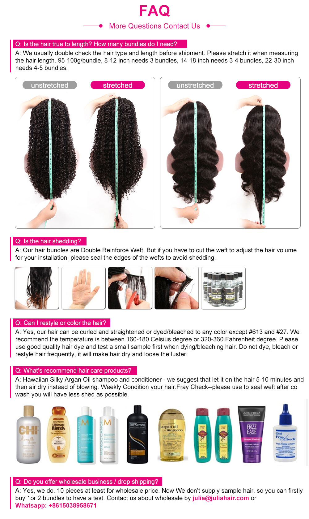 Wig Length Guidance