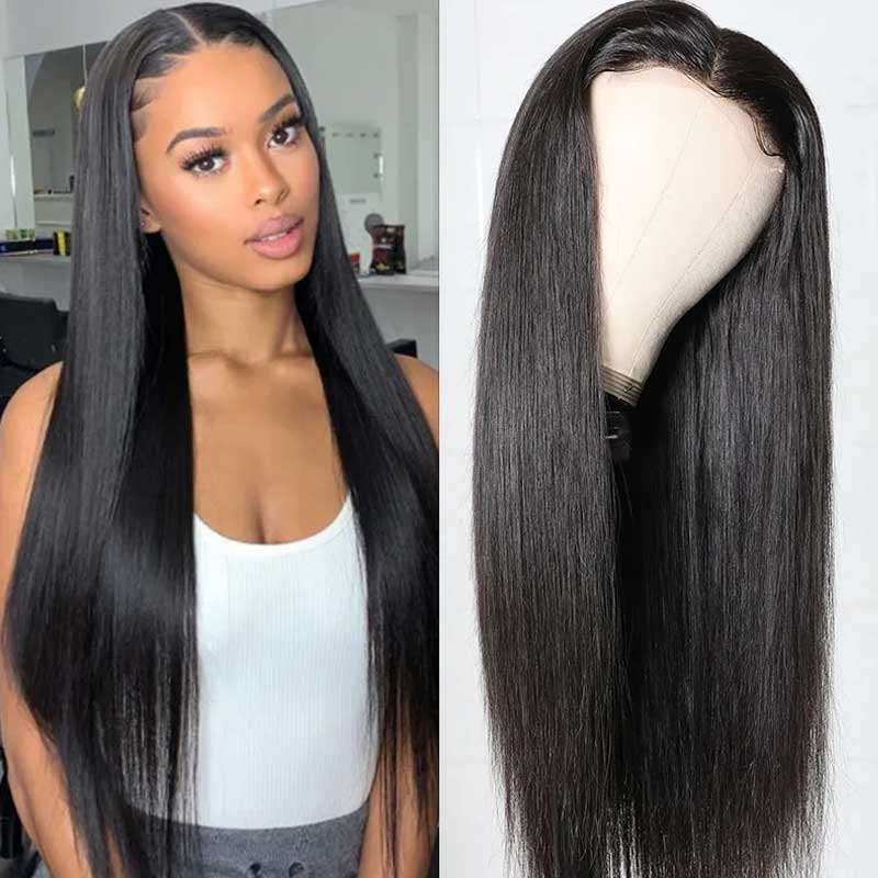 straight wave HD lace wigs