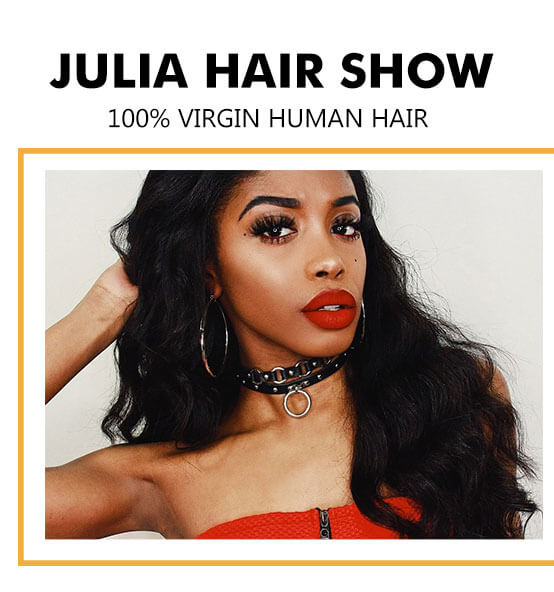 Julia Brazilian Body Wave Human Hair