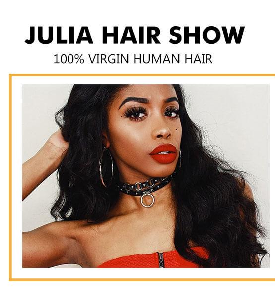 Julia Brazilian Body Wave Human Hair