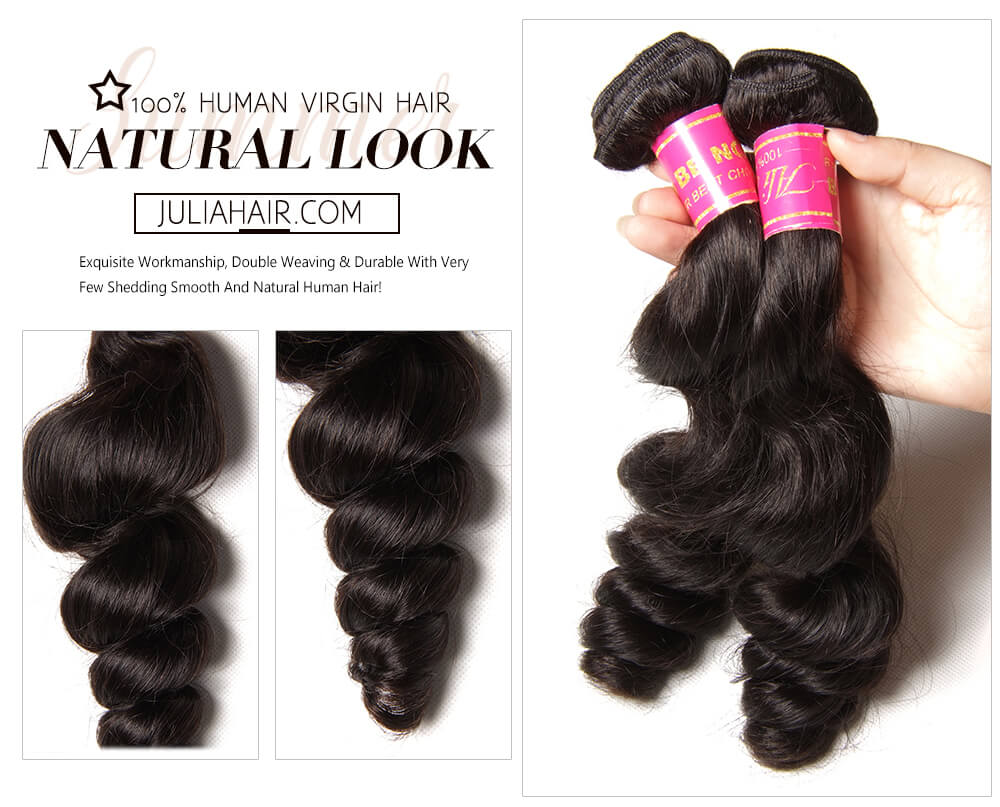 Malaysian Loose Wave Hair Bundles