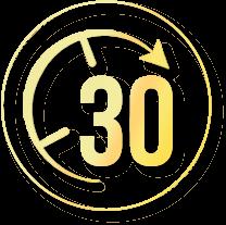 30 Days Free Return Policy